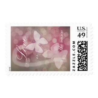 Love is the Reason Postage Stamp