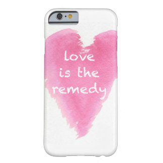 """""""Love is the remedy"""" iPhone6 Case"""