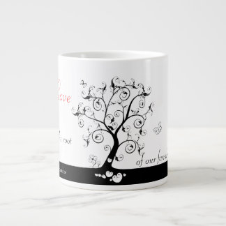 Love is the root 20 oz large ceramic coffee mug