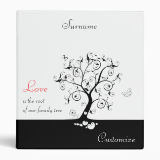 Love is the root 3 ring binder