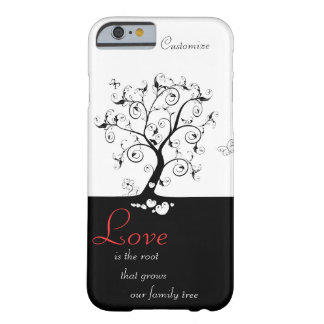 Love is the Root Barely There iPhone 6 Case