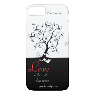 Love is the Root iPhone 7 Case