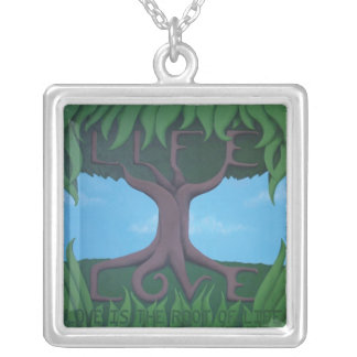 Love is the Root of Life Necklace