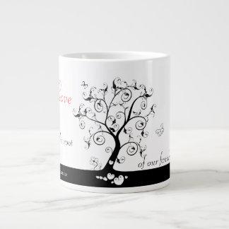 Love is the root 20 oz large ceramic coffee mug