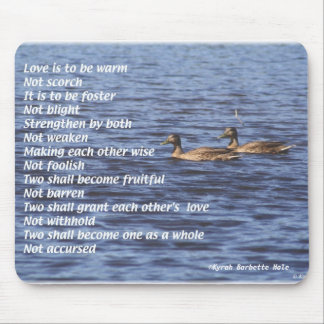 Love Is to be, ©Kyrah Barbette Hale Mousepad