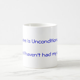 Love is Unconditional Classic White Coffee Mug