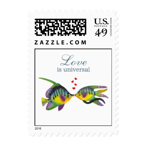 Love is Universal Postage