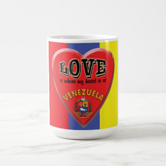 Love is Venezuela - Coffee Mug