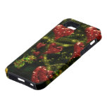 Love is Weird - Red Hearts on Strange Abstract iPhone 5 Case