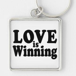 Love is Winning Keychain