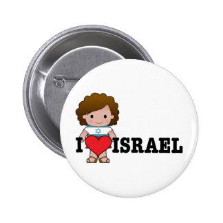 Love Israel Button