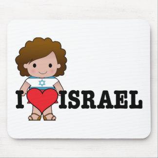 Love Israel Mouse Mat