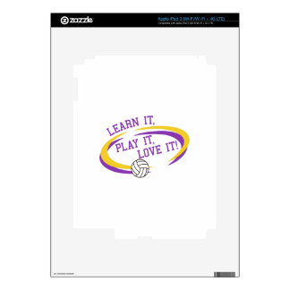 Love It! Decal For iPad 3