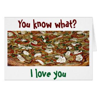 LOVE-IT ITALIANO es HIGHEST-LOVE U MÁS QUE LA Tarjeta De Felicitación