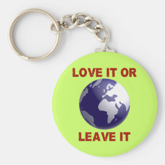 Love It Or Leave It Keychain