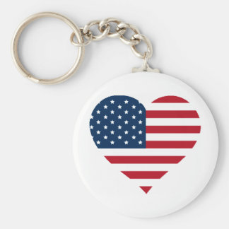 Love it or leave it merch basic round button keychain