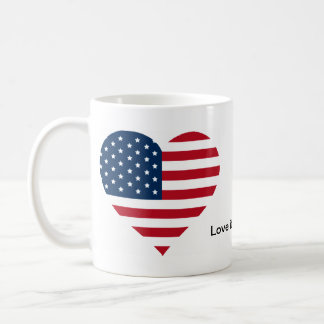 Love it or leave it merch classic white coffee mug