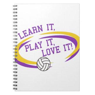 Love It! Spiral Notebook