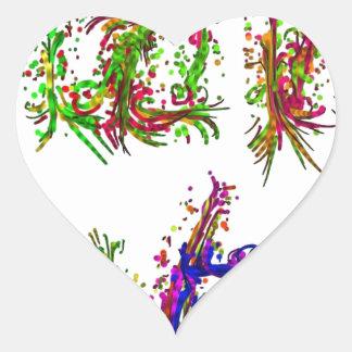 Love it heart sticker