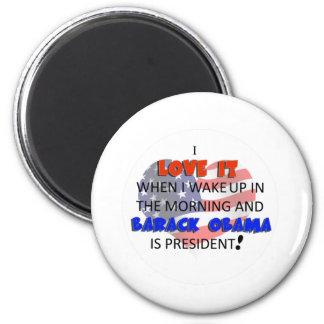 Love it when wake up 2 inch round magnet