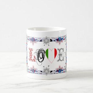 Love Italia/Italy Coffee Mug