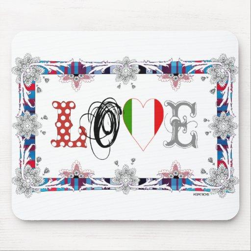 Love Italia Mouse Pad