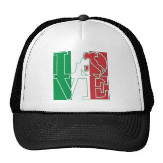 LOVE Italian Style Trucker Hats