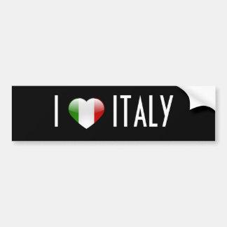 Love Italy Bumper Stickers