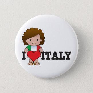 Love Italy Button