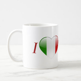 Love Italy Classic White Coffee Mug