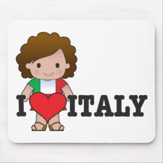 Love Italy Mouse Pad