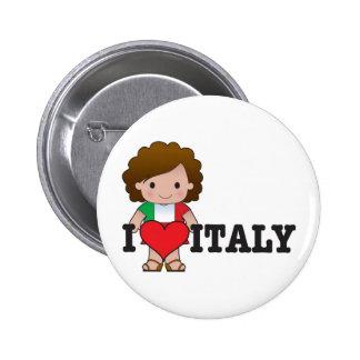Love Italy Pin