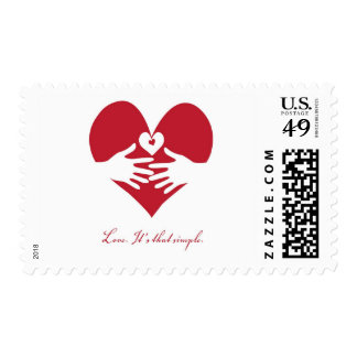 Love. Its that simple. Postage