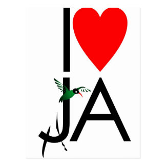 Love JA Postcard