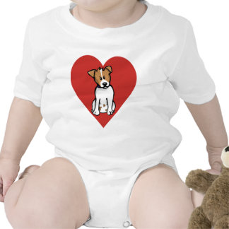 Love Jack Russell Bodysuits