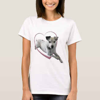 Love Jack Russell Dog Gifts Ladies t-shirt