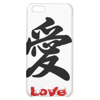 Love Japanese Symbol Case For iPhone 5C