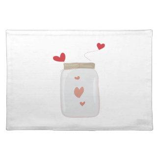 Love Jar Cloth Placemat