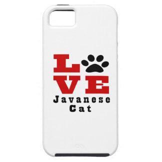 Love Javanese Cat Designes iPhone SE/5/5s Case