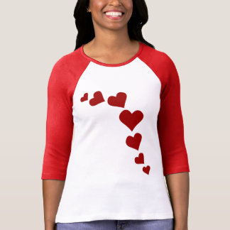 Love Jersey Custom de la camisa de las tarjetas