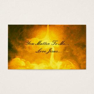 Love Jesus Business Card