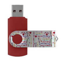 Love Jesus Flash Drive
