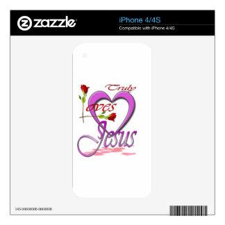 Love Jesus iPhone 4S Skins
