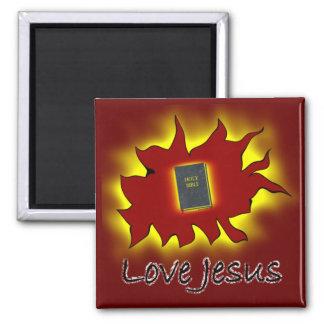 Love Jesus Magnet