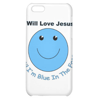 Love Jesus smiley face iPhone 5C Cover