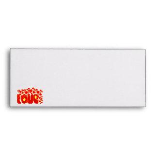 Love - John 13.34 Envelopes