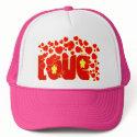 Love - John 13.34 Hats