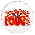 Love - John 13.34 Wallclocks