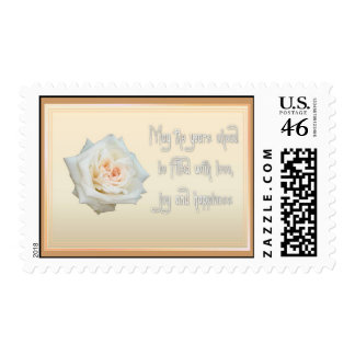 Love, Joy and Happiness Postage Stamp