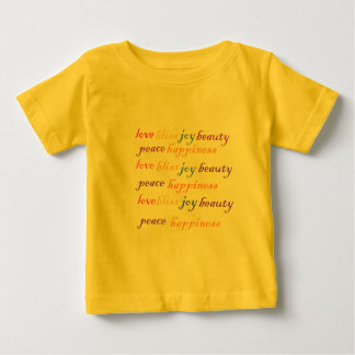 Love, Joy, Happiness Baby T-Shirt